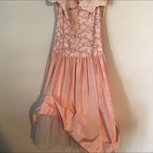 sequenced peach Tafta Jessica McInntock size 12.